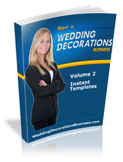 wedding decorations templates